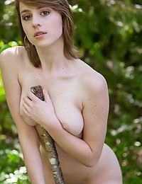 Free FEMJOY Gallery - JESS K. - Between The Leaves - FEMJOY