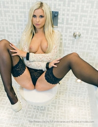 Put a skinny and smoking hot blonde into a tiny restroom and it will open up new perspectives. Lara's velvet skin and the smell of her perfect pussy in an up close one on one exchange, remains a reminder about how much I'd have loved to fuck this gal.