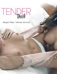 As Ashely Sinclair emerges from a hot and steamy shower, her tender tan skin freshly clean, there's nothing she desires more than the tender touch of her lesbian lover Abigail Mac. Dropping her towel, she enticed her lover into erotic embrace, locking lips and legs as they brought each other to orgasm after orgasm. Sit back and take a gander as soft lips and gentle fingers explore every inch of two perfect tan and toned bodies, because after a shower, nothing quite beats getting dirty all over again.